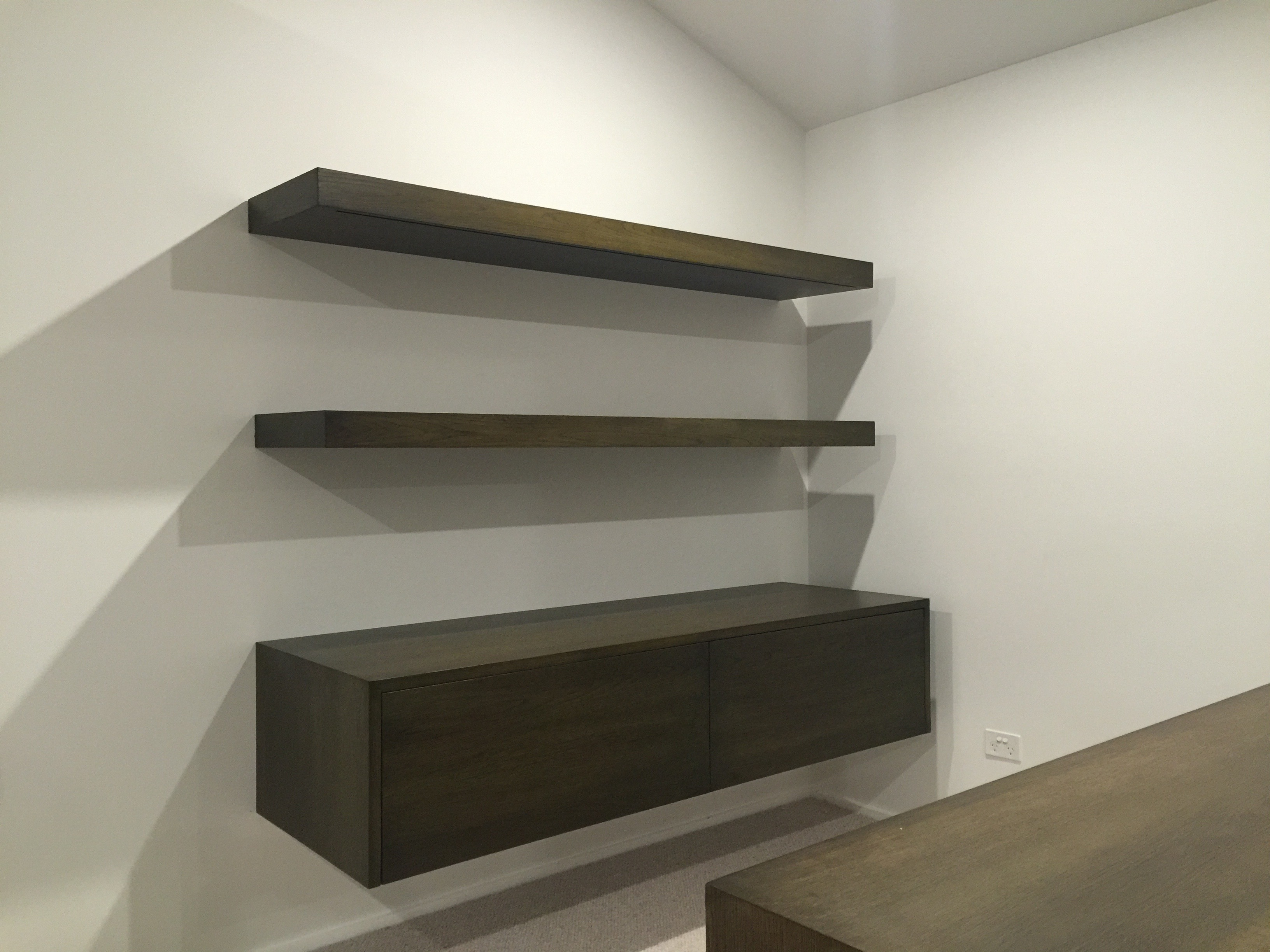 Custom Cabinetry and Shelving Designed and Built by Sound with Vision